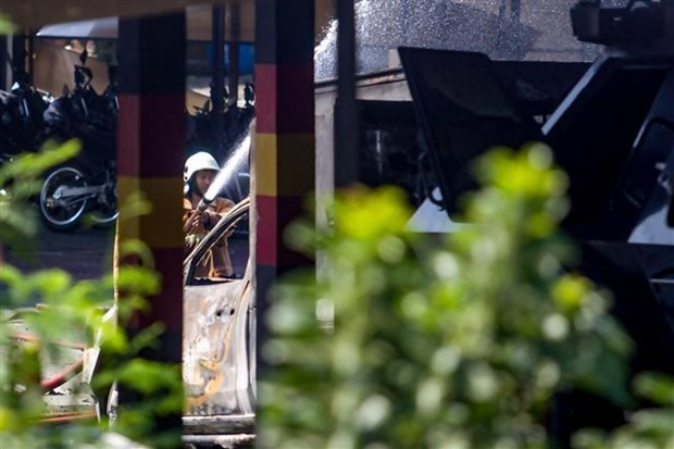 Blast at Indonesian police warehouse in Central Java province hinh anh 1