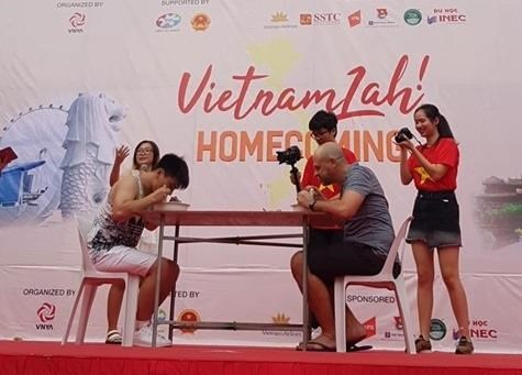 Fair introduces Vietnam's culture in Singapore hinh anh 1