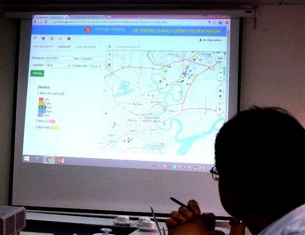 HCM City integrates admin data into common-use digital map hinh anh 1