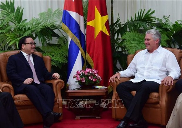 Vietnamese Party delegation visits Cuba to boost traditional ties hinh anh 1