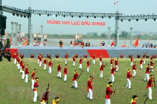 Con Son-Kiep Bac Autumn Festival opens hinh anh 1