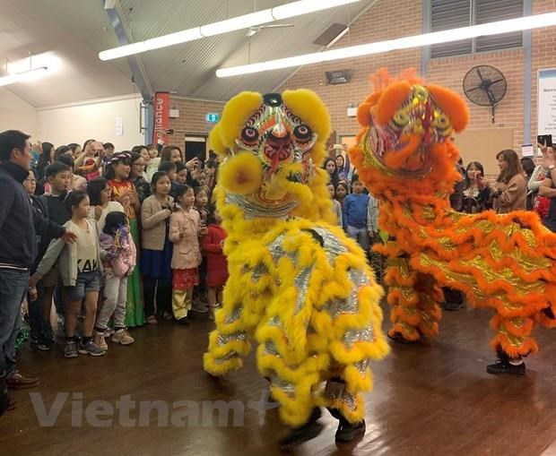 Mid-Autumn Festival held for Vietnamese children abroad hinh anh 1
