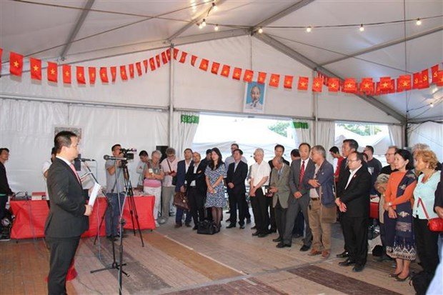 Nhan Dan Newspaper returns to L'Humanite festival in France hinh anh 1