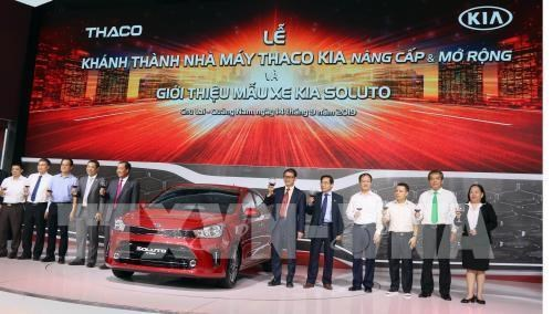 Car maker Thaco steps up production hinh anh 1