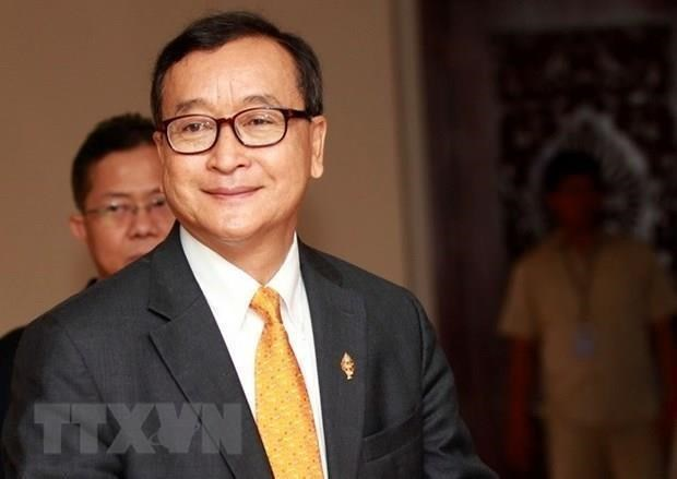 Cambodian court orders arrest of exile opposition leader hinh anh 1