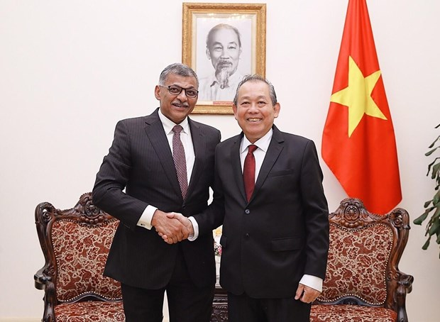 Gov't supports stronger ties between Vietnam, Singapore's courts: Deputy PM hinh anh 1