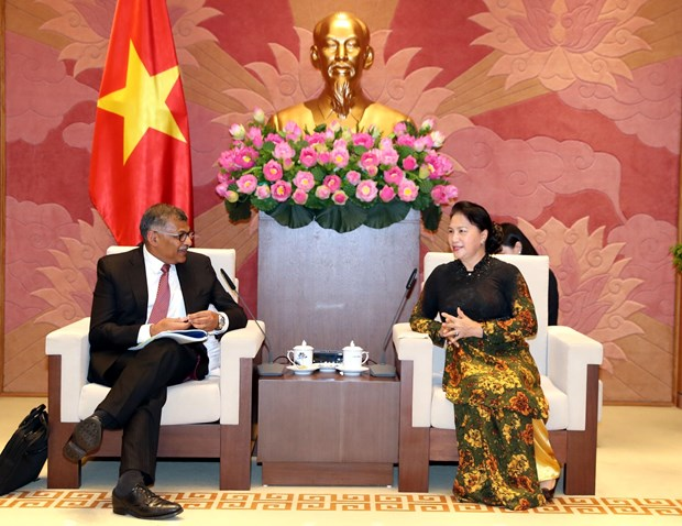 Parliamentary leader welcomes chief justice of Singapore hinh anh 1