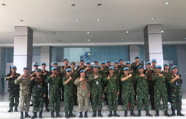 Vietnam joins drill on peacekeeping, mine action in Indonesia hinh anh 1