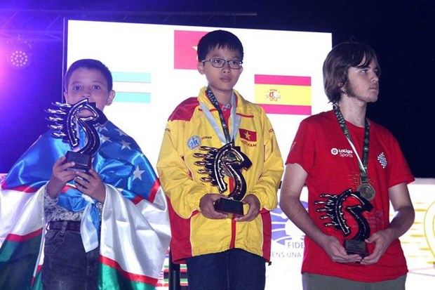 Vietnam finishes first at World Rapid & Blitz Chess Championships hinh anh 1