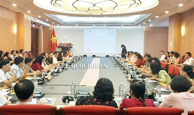 Workshop talks gender responsive budgeting hinh anh 1