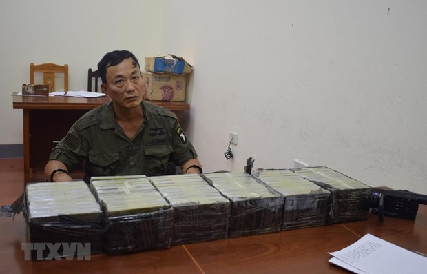 Trafficker of 21 kilogrammes of heroin arrested in Lang Son hinh anh 1