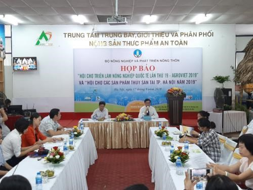 Hanoi to host agriculture, aquatic product fairs hinh anh 1