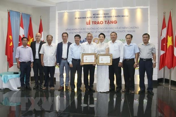 Vietnamese nationals honoured for proactive engagement in national campaign hinh anh 1