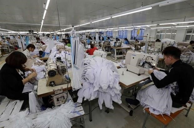 Vietnam's textile export value up almost 7 pct in eight months hinh anh 1