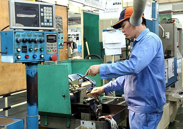 Vinh Phuc: 8-month industrial production index up 11.8 percent hinh anh 1
