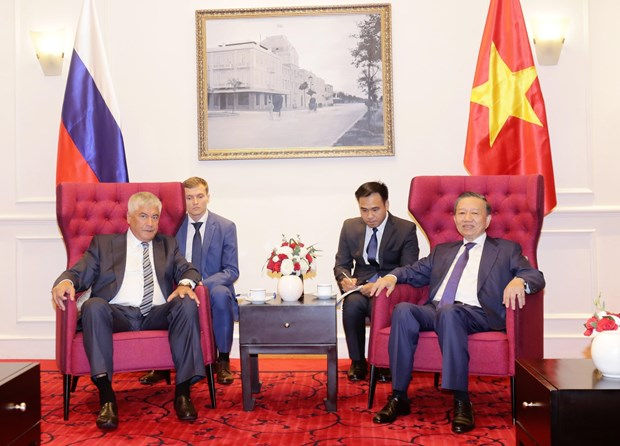 Vietnam, Russia promote collaboration in crime combat hinh anh 1