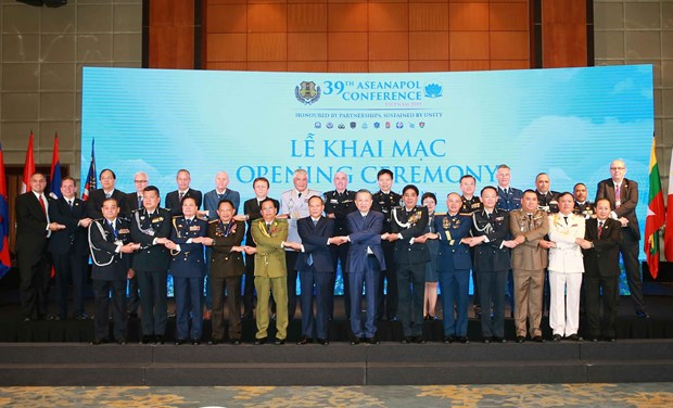Southeast Asian countries join hands to fight cross-border crime hinh anh 1
