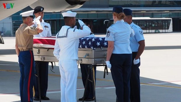 More remains of US servicemen repatriated hinh anh 1