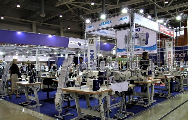 Russian fair offers opportunities for Vietnamese garment, textile products hinh anh 1