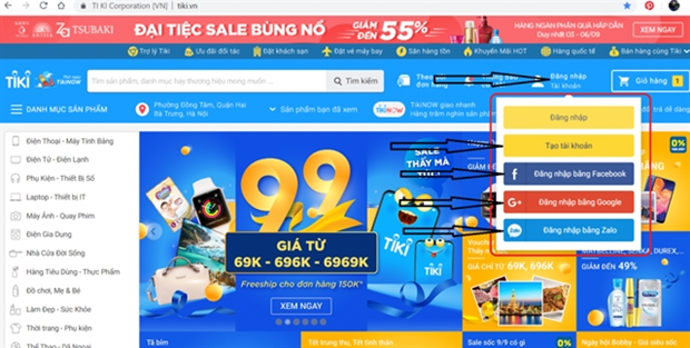 Vietnamese companies among ten most visited e-commerce sites in SEA hinh anh 1
