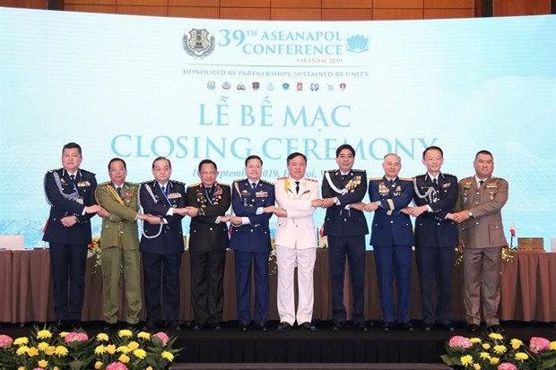 39th ASEAN Chiefs of Police Conference wraps up in Hanoi hinh anh 1