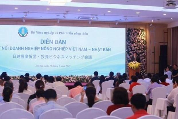 Forum promotes Vietnam-Japan agriculture cooperation hinh anh 1