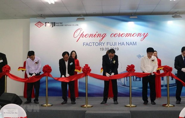 Fuji Electric Industry plant becomes operational in Ha Nam hinh anh 1