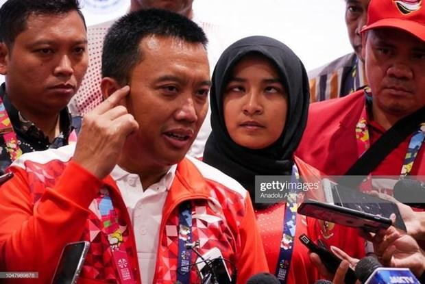Indonesian sports minister resigns over corruption allegation hinh anh 1