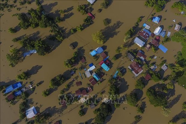 Sympathy to Thailand over damage caused by storms hinh anh 1