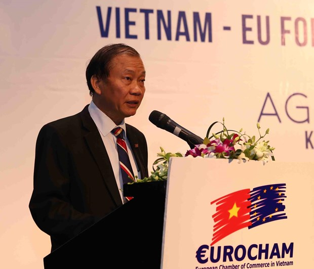 Forum discusses key to access European agricultural market hinh anh 1