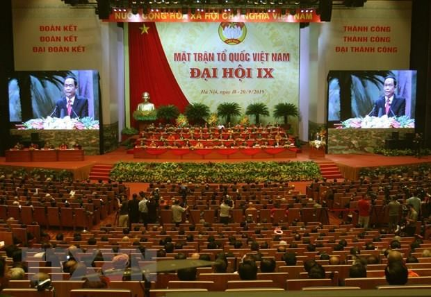 9th National Congress of Vietnam Fatherland Front opens hinh anh 1