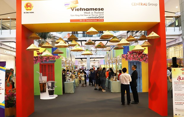 Vietnamese goods introduced in Thailand hinh anh 1