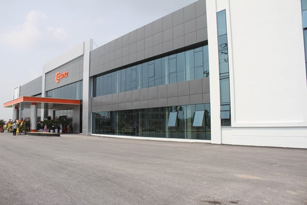 Korean auto part maker inaugurates plant in Ninh Binh hinh anh 1