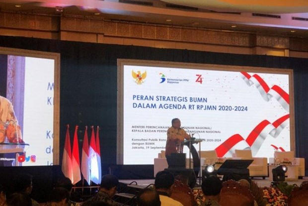 Indonesian government outlines three economic growth scenarios hinh anh 1
