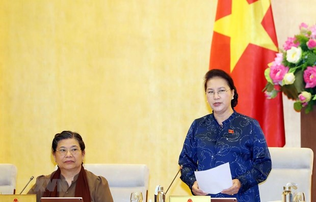 NA Standing Committee's 37th session wraps up hinh anh 1