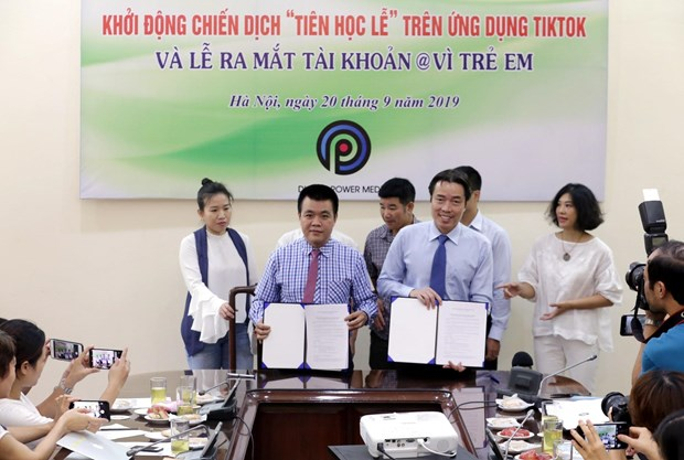 Child protection efforts to go viral hinh anh 1