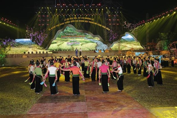 Muong Lo tourism-culture week opens in Yen Bai hinh anh 1