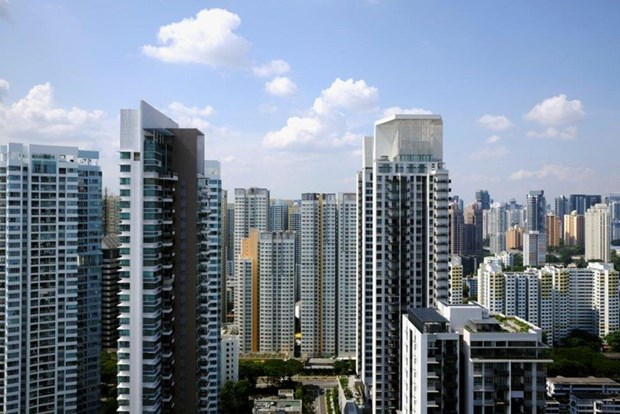 Sales of luxury apartments in Singapore hit record in 11 years hinh anh 1