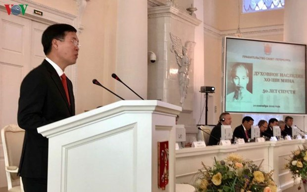 President Ho Chi Minh's testament under discussion in Russia hinh anh 1