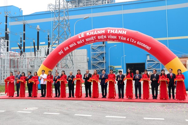 Vinh Tan 4 thermal power plant inaugurated hinh anh 1