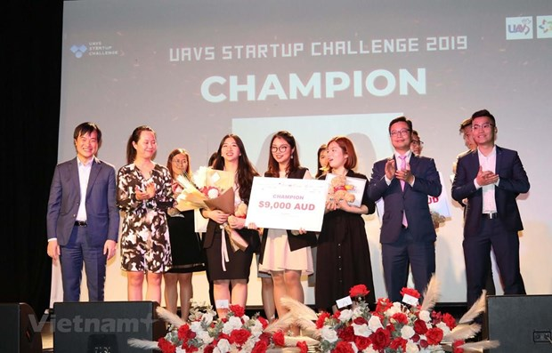 Vietnamese start-up challenge concludes in Australia hinh anh 1