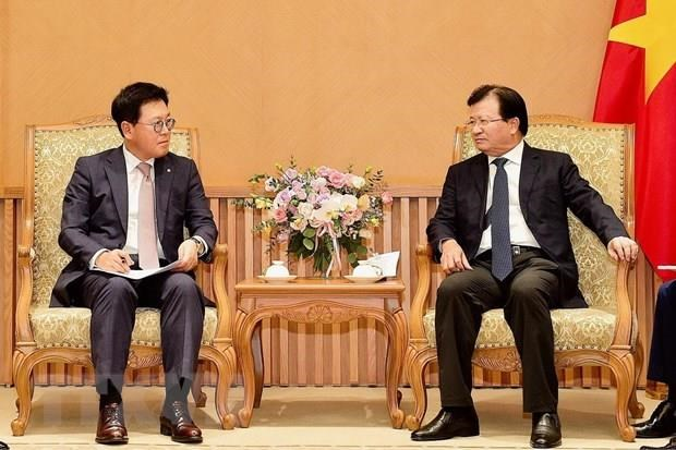 Deputy PM receives CEO of Lotte Asset Development hinh anh 1