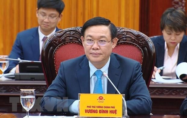 Deputy PM, WB Vice President hold talks hinh anh 1