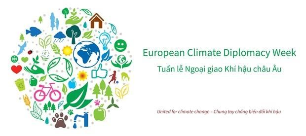 European Climate Diplomacy Week 2019 to open hinh anh 1