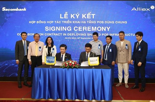 Sacombank signs deal with Alliex to deploy shared POS infrastructure hinh anh 1