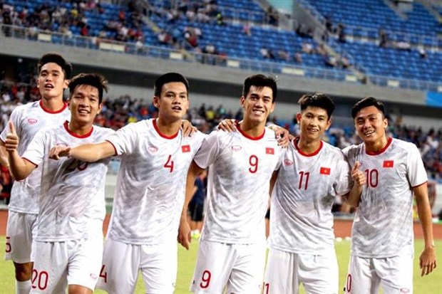 Vietnam's U22 team to have friendly match against UAE hinh anh 1