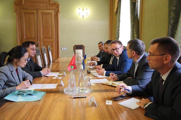 Ukraine's Lviv province willing to support Vietnamese investors hinh anh 1