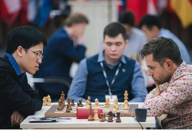GM Le Quang Liem eliminated from FIDE World Cup hinh anh 1