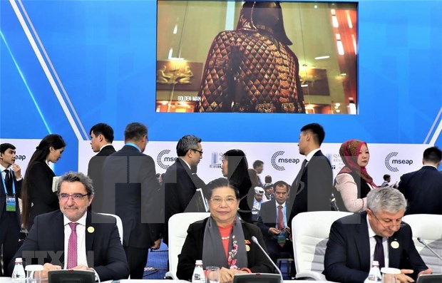 NA Vice Chairwoman attends MSEAP 4 opening hinh anh 1