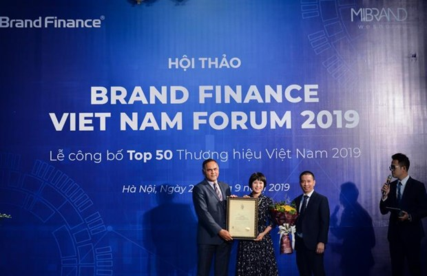 Vietnam's top 50 brands in 2019 announced hinh anh 1